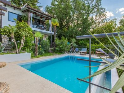 Photo for Wonderful  home with pool and amazing sea view . Near the beach !