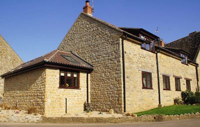 Photo for Stone Barn Conversion in Picturesqe Hamlet near Bridport and West Bay