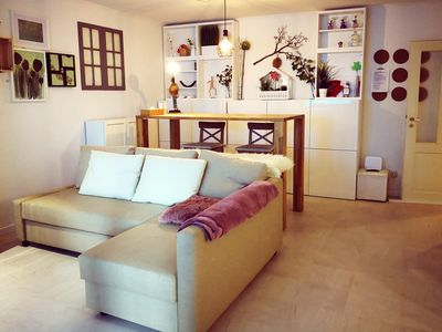 Photo for Central, Quiet, Apartment with Sky High Bed
