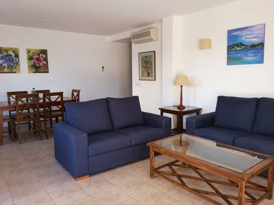 Photo for Ground floor with two bedrooms located on the second line of Paseo de los Pinos