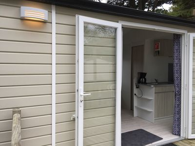 """Photo for """"Zen, let's be Zen"""" - Mobilhome 4p at the campsite Conguel **** in Quiberon"""