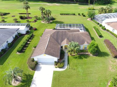 Photo for 4 bedroom, 2 bath at the fairway of hole 15. Private pool