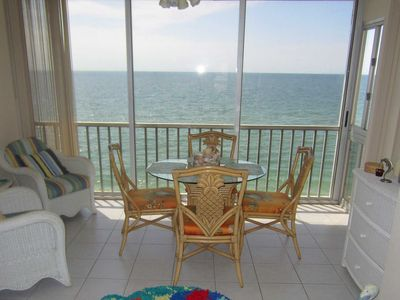 Great View of Gulf of mexico, right on the beach with boat docks and pool.