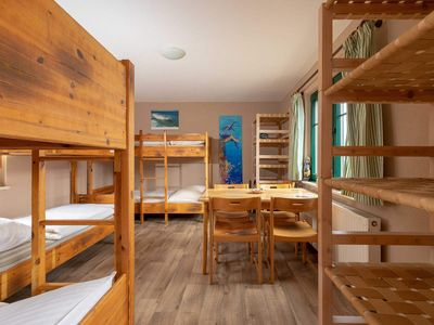 Photo for 8 bed room 1L with 4 bunk beds - Rügen SurfHostel WE12622