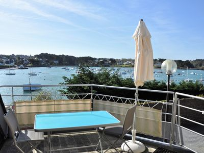 Photo for NEW House 3 * SUPERB SEA VIEW with large terrace port of Ploumanac'h