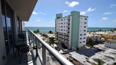 Photo for SPECTACULAR 1 BED PLUS DEN ON TO THE AMAZING HOLLYWOOD BEACH 508N