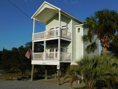 Photo for Splendid North End Gulf View Home By State Park, Beach/Bay Access, Bikes, Kayaks