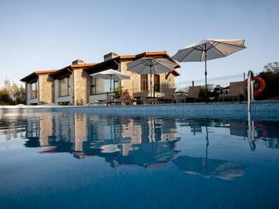 Photo for With pool and sea views. Ideal for families