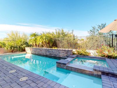 Photo for NEW LISTING! Luxury home w/pool & home theater-near golf/dining