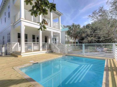 Photo for Private Beach Home with Private Pool and Stunning Views! Upgraded Throughout! Includes 4 Bikes!