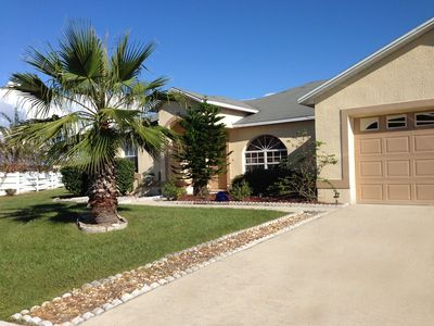 Photo for Lots Of Privacy On A Lake 20 Minutes From Disney With A Private Pool and Spa.