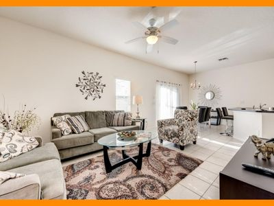 Photo for Bella Vida Resort 9 - Modern townhouse with private screened pool near Disney