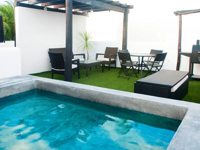 Photo for Apartment with private Terrace and Pool