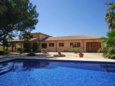 Photo for Modern country house with pool and mountain views 2 km from the sea