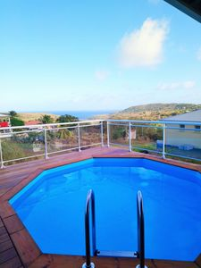 Photo for Sea view bungalow / private pool / Ste Anne-Marin
