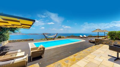 Photo for Villa with breathtaking views in Crete ✔️