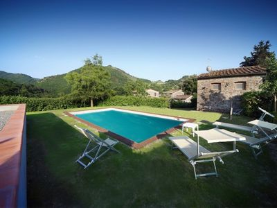 Photo for Rustic renovated, with every modern comfort, private pool and garden