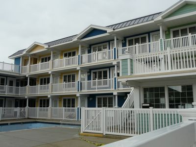 Photo for WILDWOOD CREST MODERN 1 BDR, POOL, CLOSE TO EASY ACCESS WALKWAY ON BEACH