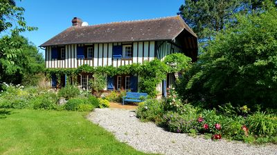 Photo for Typical house from Normandy of charm with a beautiful park