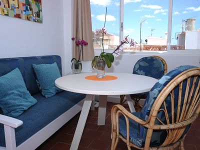 Photo for Beach house 40m from the sea, the most beautiful beach of Málaga Pedregalejo