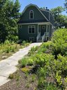 Front walkway in the early summer