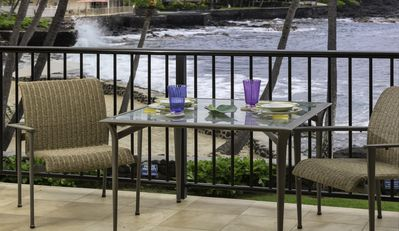 Photo for Kona By The Sea (Big Island) - Amazing ocean front Condo*Recently Renovated* Corner Unit*at Kona By The Sea!!
