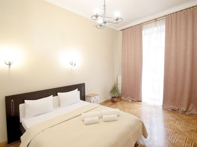 Photo for Deluxe Apartments Lviv is the center of