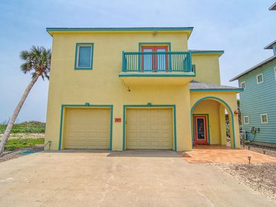 Photo for Located directly on the beachfront, incredible views! Heated Community Pool!
