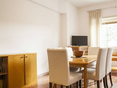 Photo for Rome and beach - Large 2 bedrooms apartment with garden