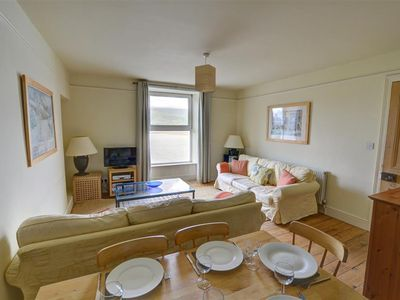 Photo for This middle floor apartment of a Victorian house is in a great location on the edge of the Snowdonia