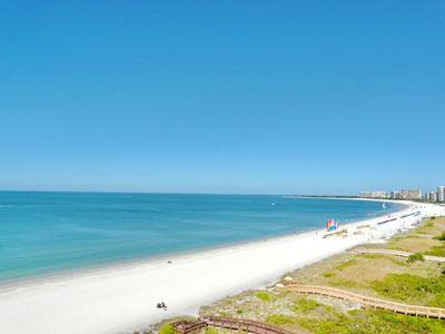 Photo for Beachfront condo w/ panoramic ocean views, heated pools & tennis courts