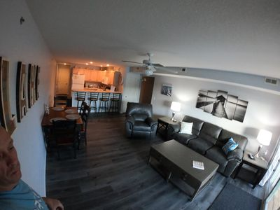Photo for Ledges 3BR/2BA, Ground Level, Water Front, Slip Included,, Walk Off Front Deck!!