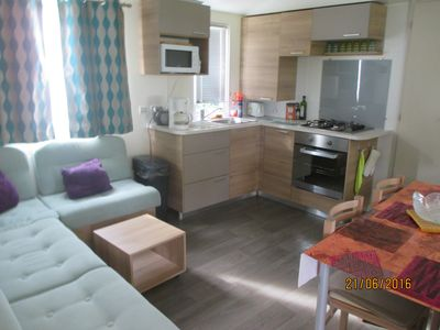 Photo for 2BR Mobile Home Vacation Rental in Pérols, Occitanie