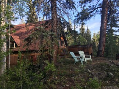 Photo for Charming Creekside Cabin-Romantic-Mtn/Waterfall Views-Hot Tub-1 mi to Purgatory