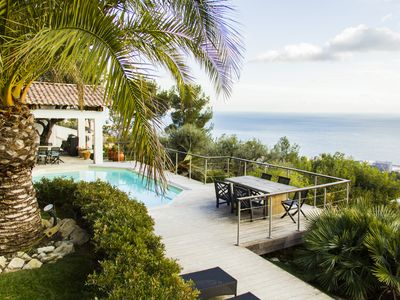Photo for Magnificent sea view Villa of 300m2 in Californian style