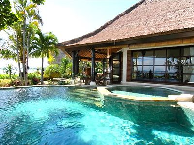 Photo for Villa Bundar: Luxury Beachfront Villa With Staff