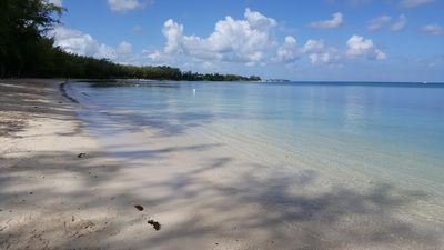 Photo for Rent self catering flat 200 m to Trou aux biches beach.Free breakfast +24/7 wifi