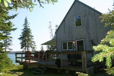 Photo for Private Deep Water Oceanside Cottage in Deer Isle Maine