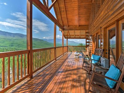 Photo for Updated Gatlinburg Cabin w/Mtn. Views & Game Room!