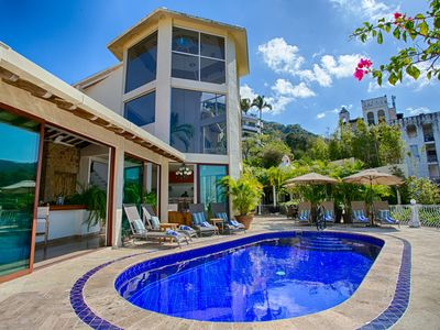 Photo for LUXURY MEXICAN VILLA W/STAFF - 4BD