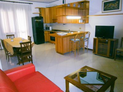 Photo for Spacious apartment near the beach and center - Beach Place Included - Caorle