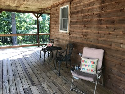 Photo for Shady Pines- Water Front Rough River Cabin
