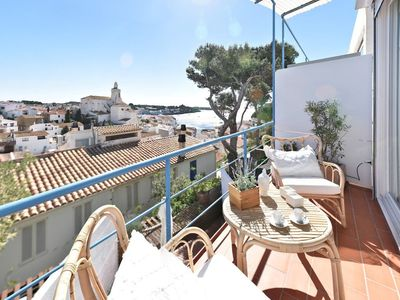 Photo for 101.16_Charming & Stunning and Stylish apartment with terrace with sea view.