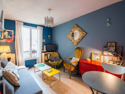Photo for Cozy apartment near Montmartre