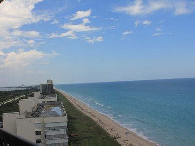 Photo for Spectacular Ocean Front Condo 15th Floor, 2/2, Islandia II - Newly Renovated