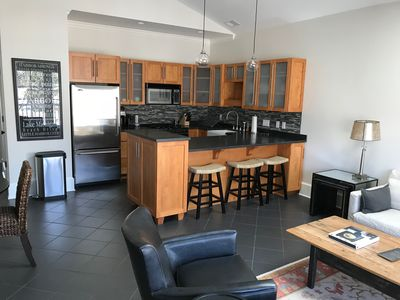 Photo for Modern condo downtown Harbor Springs