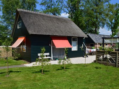 Photo for A cosy house close to Giethoorn and the Weerribben-Wieden National Park, with a boat available(hire)