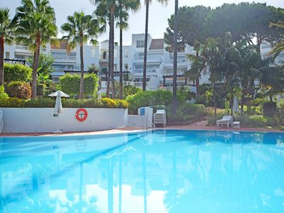 Photo for White Pearl beach Elviria - Apartment for 4 people in Marbella