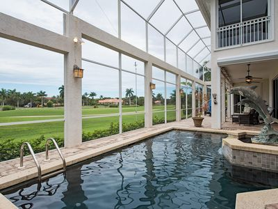 Photo for LUXURY RENTALS | WINDSTAR BEACH HOUSE--Golf Course Views & Game Room