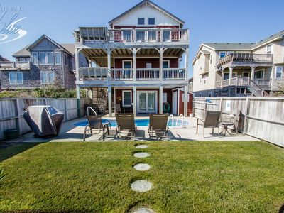 Photo for Looney Dunes | 1100 ft from the beach | Private Pool, Hot Tub